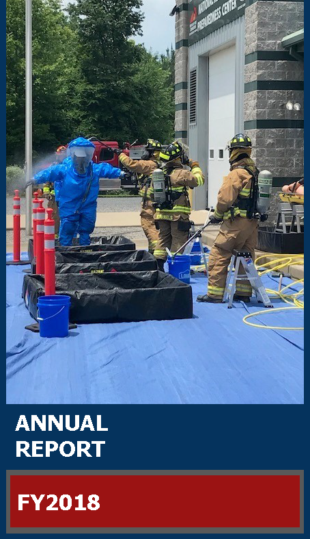 kentucky fire commission annual report cover